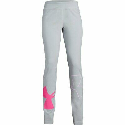 2019 Under Armour Junior Girls Finale Knit Leggings UA Kids Training Bottoms Y/M
