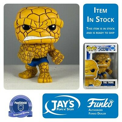Funko Pop! Marvel Fantastic Four Thing w/ Protector Presale
