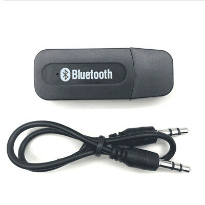 1Pc wireless usb bluetooth music audio receiver adapter 3.5mm dongle RR
