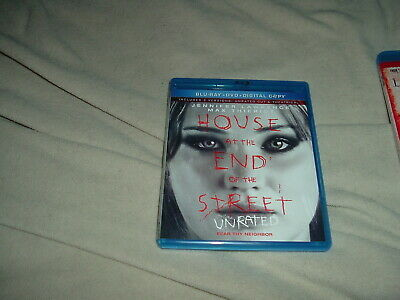 House at the End of the Street UNRATED BLU-RAY + DVD Jennifer Lawrence