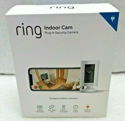 Introducing Ring Indoor Plug-In 1080p HD Security Camera Brand NEW Sealed