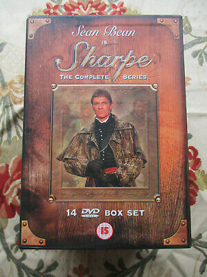Sharpe The Complete Series Starring Sean Bean 14 Dvd Boxset Region 2 Uk Pal