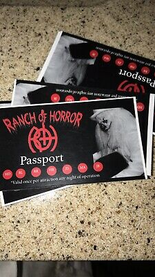 Ranch Of Horrors Vip Passes
