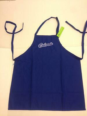 Culver's Culvers  Restaurant Apron Uniform Official New Blue W/Logo Never Worn