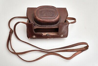 Zeiss Ikon Leather Case for Contax I, Vintage 1930, exceptionally well preserved