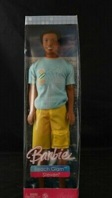New 2006  Barbie Beach Glam Steven Doll NRFB