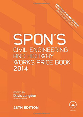 Spon's Civil Engineering and Highway Works Price Book 2014, , Good Condition Boo