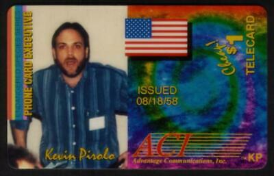 $1. Kevin Pirolo: Endangered Species ACMI Phone Card Exec. SPECIMEN Phone Card