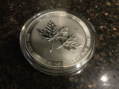 10 Ounce 2018 Canadian Maple Leaf Coin With Case