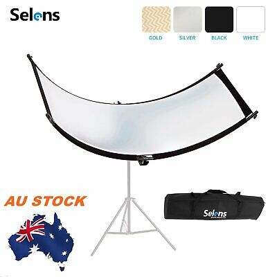 Selens Curved Light Reflector f Portrait Shooting Photography Studio Lighting AU