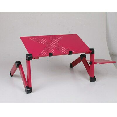 Table Ordinateur Portable Reglable Pliable Ventilee Plateau Lit Canape 2 Coloris