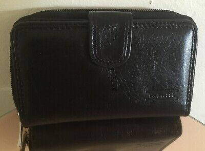 ***4 COLOURS*** Fabretti 51065 Ladies//Womens Genuine Leather Purse