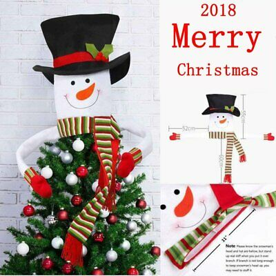 Christmas Snowman Topper Top Star Small/Large Star for Xmas Top Decoration US