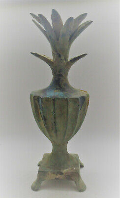 Circa 1200-800Bce Ancient Luristan Near Eastern Bronze Vessel Superb