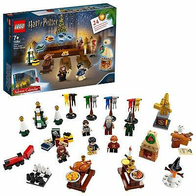 LEGO 75964 Harry Potter Advent Calendar 2019 With 7 Minifigures, Micro Hogwarts