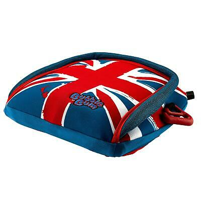 BubbleBum Inflatable Car Booster Seat Group 2/3, 15-36kg 4-12 Years - Union Jack