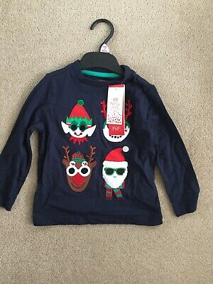 Kids Boys Girls Christmas Jumper/Top - New 1.5 to 2 years