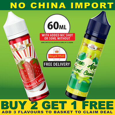 House of Vape | ELIQUIDS (3,6mg) VAPE JUICE ECIG E LIQUID SUB OHM NICOTINE TPD