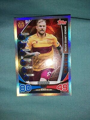 Topps Spfl Match Attax 2019/20 Limited Edition