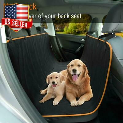 DOG BACK REAR SEAT COVER PROTECTOR Scratch Proof Hammock Van SUV Pet Mat Travel