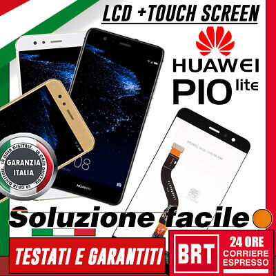 Display Lcd+Touch Screen Originale Huawei P10 Lite Was-Lx1A Schermo Vetro 24H!