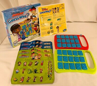2013 Disney Junior Guess Who Game by Hasbro in Good Cond FREE SHIPPING