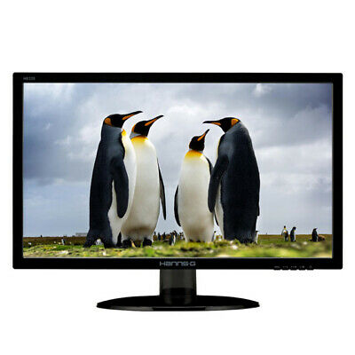 "Hanns-G HE225ANB Monitor 21.5"" LED Wide FullHD 1920x1080 5ms VGA Nero"