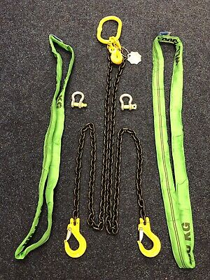 Gunnebo Lifting Chain Sling and Accessory Kit