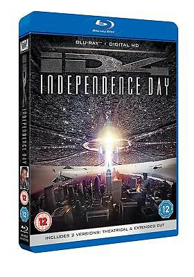 Independence Day: Theatrical And Extended Cut [2016] (Blu-ray) Will Smith