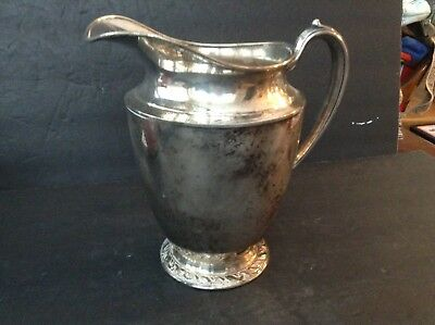 Vintage Silverplated Water Pitcher Oneida