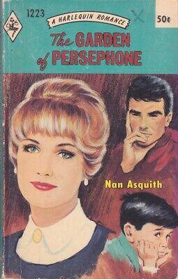 Nan Asquith: Garden of Persephone. Harlequin 1223 1968, 1st thus. 848298