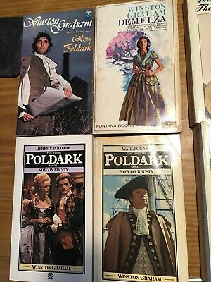 Poldark Winston Graham entire book collection with original books!