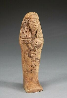 Egypt Ancient Stone Figure Shabti