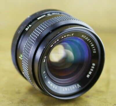 Vivitar 28mm F/ 2 MC Wide Angle Lens C/Y Contax Yashica Mount -- Some Issues