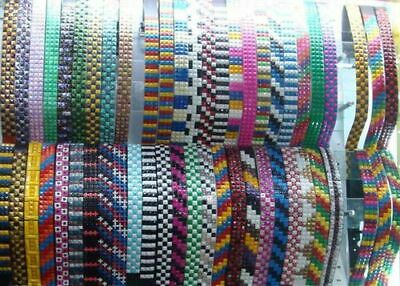 CLOSEOUT Wholesale Pyramid Button Belt, Mixed Style Colors,12pcs Free-Shipping