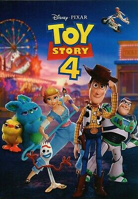 Toy Story 4 DVD 2019 (Brand NEW, Factory Sealed)