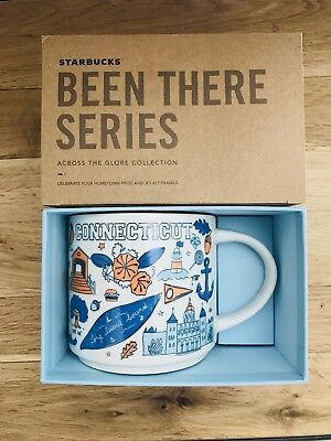 NEW Starbucks Been There Series Connecticut State Mug Limited Edition 14 fl oz