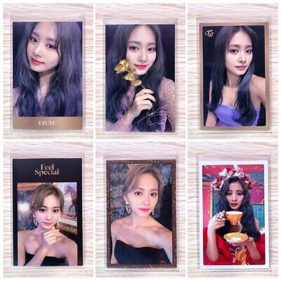 Twice - Feel Special (8Th Mini Album) Official Tzuyu Photocard (Select Ver)