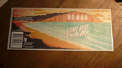 Australian Beer Label, Nomad Brewery Sydney, Long Reef Pale Ale