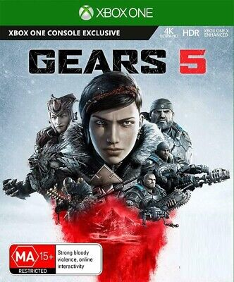 Gears 5 - Xbox One / PC Brand New *DOWNLOAD CODE* READ DESCRIPTIONS*