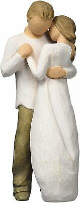 Willow Tree Promise Figurine carved wood effect Polyester & Polyester Blend  NEW