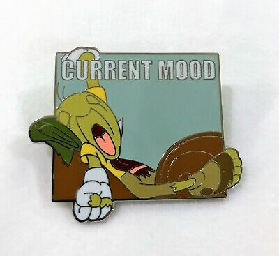 Disney Parks Current Mood Mystery Pin Collection - Jiminy Cricket