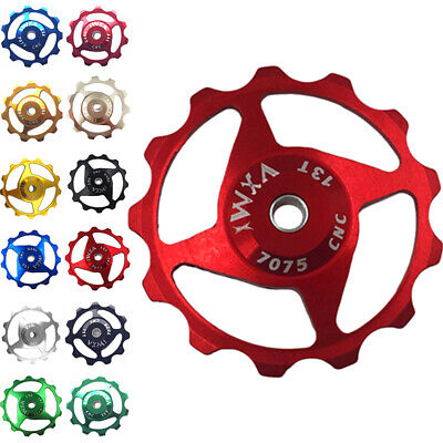 2Pcs Jockey Wheel Cycling Bike Parts 11T / 13T Cycling 7/8/9/10/11 Speed Spare