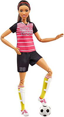 Barbie FCX82 Made to Move Football Player