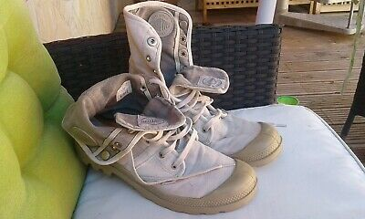 PALLADIUM PALLABROUSE BAGGY Trends Boots Stiefel GRANITE
