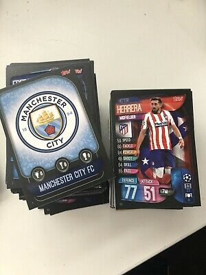 Match Attax 19/20 Champions League  - Choose any 10 Base Cards for 99p