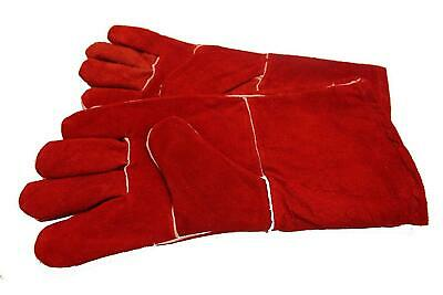 High Temperature Stove Long Lined Welders Gauntlets