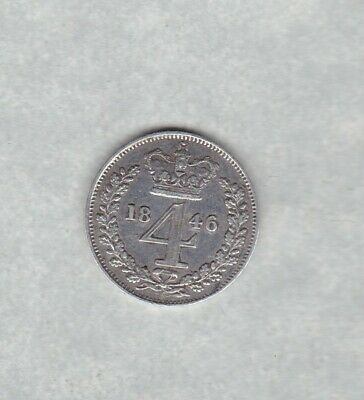 1677 Charles Ii Maundy Penny In Very Fine Condition
