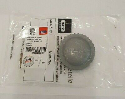 40032701 Genuine Hatz fuel filler cap for 1D41 engines   UK STOCK