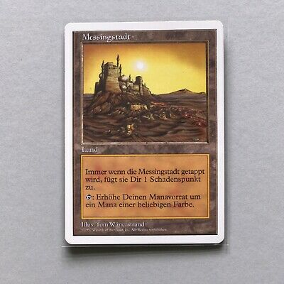MTG Messingstadt | City of Brass | Fifth Edition | GER | RARE [VG]